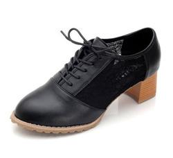 Ảnh số 76: Giày Oxford ren đế gỗ 5p - Giá: 250.000