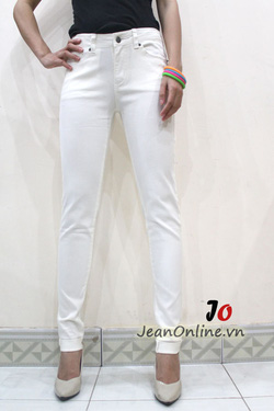 Ảnh số 12: Skinny F21 trắng - 2455. Size 26, 27, 28, 29 - Giá: 245.000