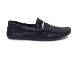 Ảnh số 41: Giày lười Bally da trơn đen - Giá: 950.000