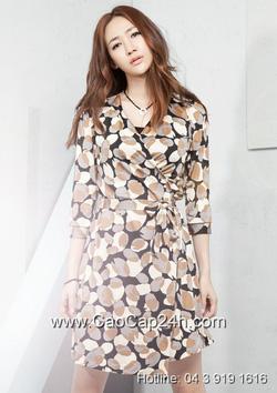Ảnh số 2: Váy liền thân Hàn Quốc 190818 - Giá: 1.790.000
