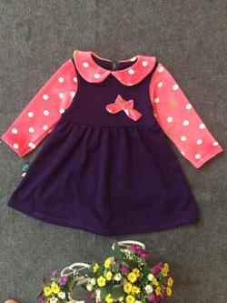 Ảnh số 63: Váy cổ chấm bi - Giá: 10.000