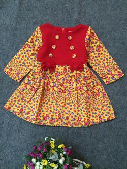 Ảnh số 66: Váy dạ 2 hàng khuy - Giá: 10.000