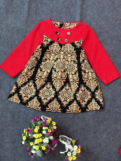 Ảnh số 90: Váy dạ thổ cẩm - Giá: 10.000