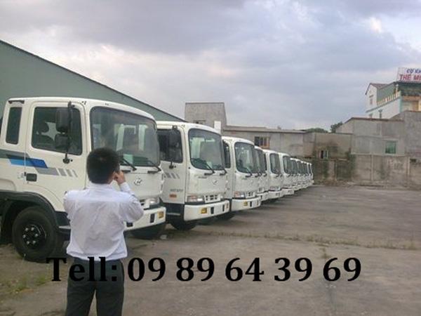 Bán xe tải, Xe đông lanh, Xe ben Hyundai nhập khẩu đời 2011 , Ảnh đại diện