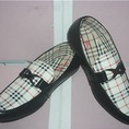 Giày mọi,giày xỏ,giày lười nam Burberry có 2 màu sang trọng