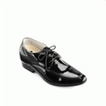 Giày cao nam westman ws128 đen bóng
