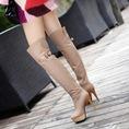 Topic 3: Boot cao trên gối,đế bệt mới nhất,mang phong cách mới.Hàng có sẵn và order.