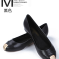 Giày bệt Chanel nữ màu đen,size 37
