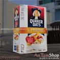 Yến mạch nguyên hạt 100% tự nhiên, Quaker Oats Old Fashioned, đẹp cho mẹ, bổ dưỡng cho bé