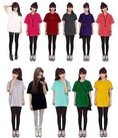 Chuyên cung cấp sỉ áo thun Trơn Form rộng nhiều màu giá 40k