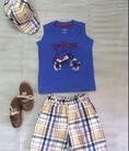 Set quần áo VNXK 3 món cho bé trai siu chất