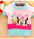 Áo len dài tay đáng yêu cho trẻ em