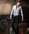 Áo sơ mi nam Hàn Quốc chất lượng, vải đẹp Áo sơ mi nam Hàn Quốc body 2013