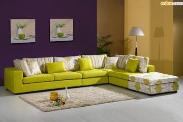 Luxury Home   Sofa góc chất liệu nỉ