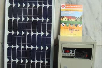 Pin mặt trời 40W bảo hành 5 năm