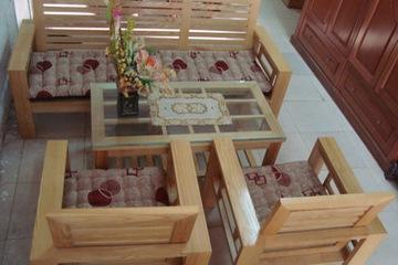 sofa gỗ Nội Thất Hương Linh
