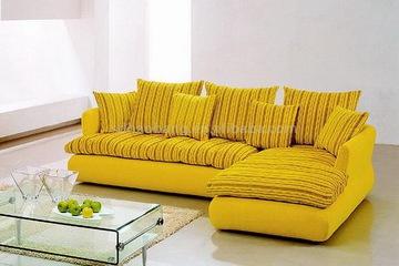 Nội thất cao cấp Luxury Home   Bộ sofa góc nỉ mã GD705