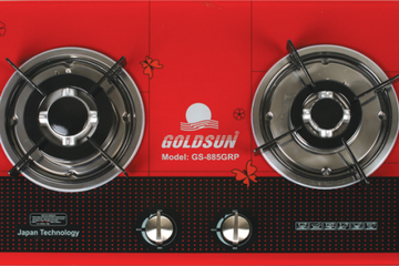 Bếp gas âm Goldsun GS   885 GRP, tặng chảo chống dính F26