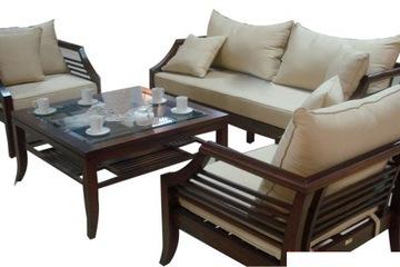 sofa gỗ tự nhiên   giảm giá cực shock nhanh tay đặt mua
