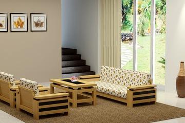 sofa gỗ tự nhiên, sofa gỗ giá khuyến mãi cuối năm chỉ còn 15 triệu