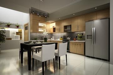 MSP058: Mẫu tủ bếp mới 2014