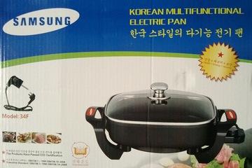 Chảo lẩu nướng rán điện đa năng Samsung chính hãng Hàn Quốc