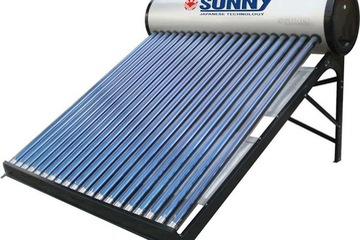 Máy nước nóng năng lượng mặt trời Sunny, Bình nước nóng năng