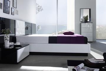 MSP 117 giường ngủ gỗ tự nhiên sồi nga