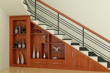 Tủ gầm cầu thang giá tốt