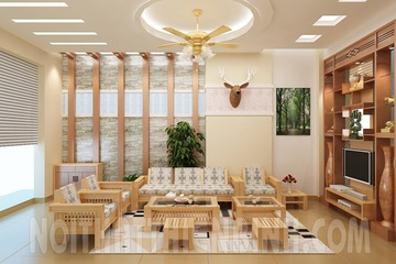 Sofa gỗ tự nhiên   sofa gỗ hiện đại   sofa gỗ phòng khách.