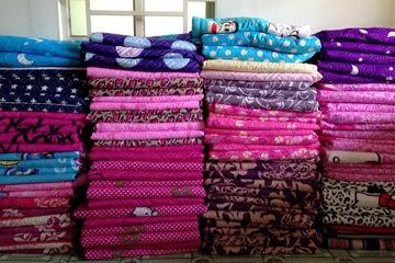 cung cấp sỉ lẻ chăn drap gối cotton nhung hàn quốc