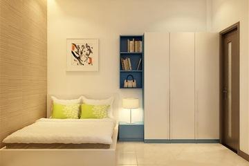 Bộ phòng ngủ gỗ công nghiệp kiểu dáng hiện đại, giá rẻ