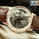 Hàng mới về Đồng hồ nam dây da Vacheron Constantin phong cách thời.