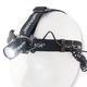 Đèn pin đeo trán, đèn pin siêu sáng rọi 800m ANSMANN Bảo hành 3 nă.