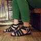 Giày sandal phong cách chiến binh ĐN.