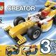Lego 31002 Super Racer, 31003 Red Rotors , 31004 Fierce Flyer, 31017 Sunset Spee.